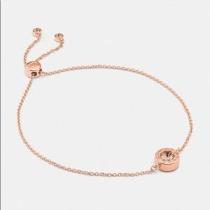 Coach Open Circle Slider Bracelet